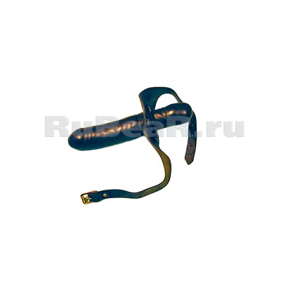 QL0132 Кляп-страпон с реалистичным фаллоимитатором