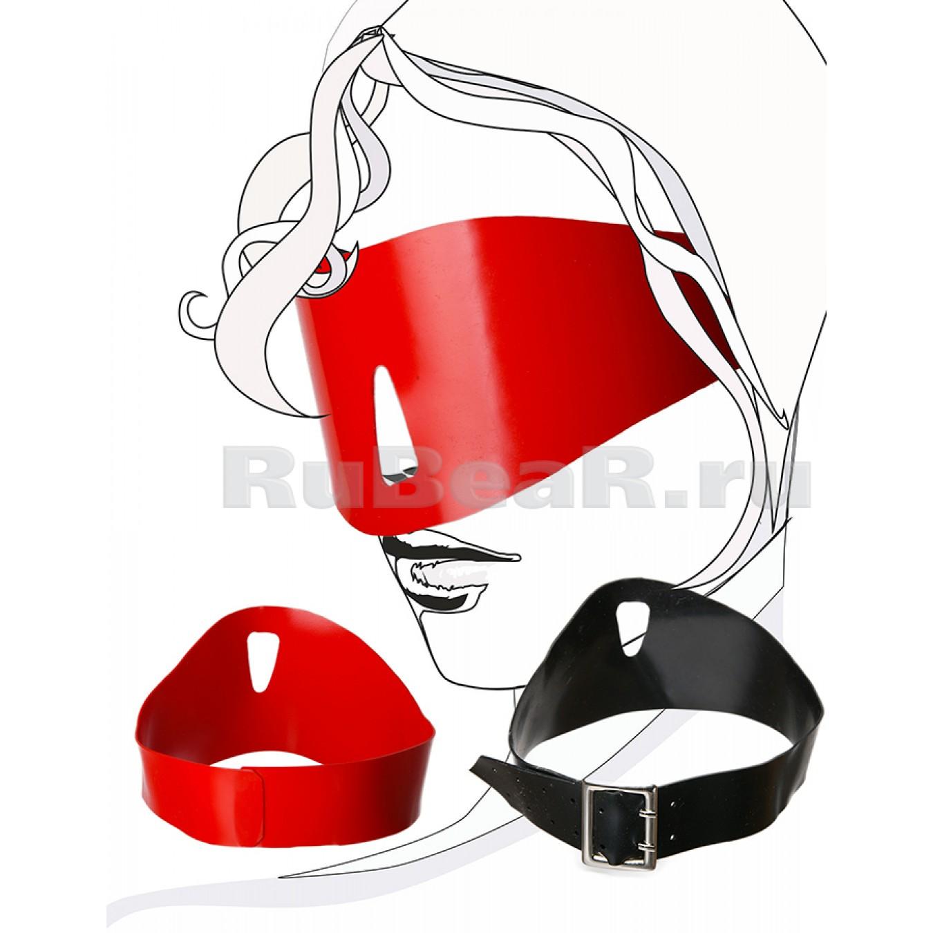 QL9003 Шоры с отверстием для носа, на ремне