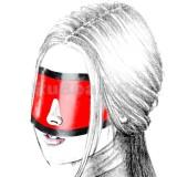QL9004 Шоры на ремне с отверстием для носа, окантованные
