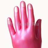 YL0218 Перчатки длинные с ногтями и окантовками