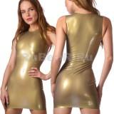 DL0002 Мини-платье одноцветное