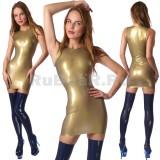 DL0002 Платье анатомическое одноцветное