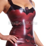 DL0113 Платье анатомическое креативное Bat-Bat