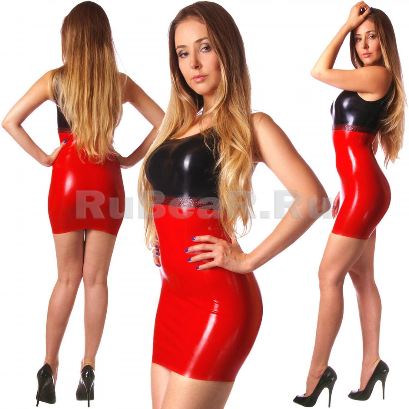 DL0302 Мини-платье трёхцветное