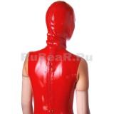 DL0403 Платье с маской двухцветное