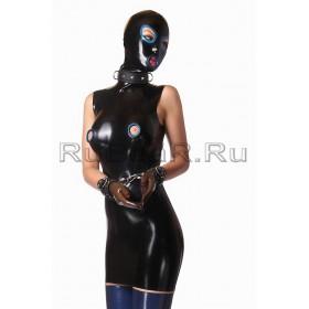 DL0406 Платье с маской