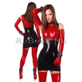 DL0507 Платье анатомическое