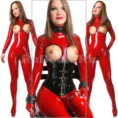 Ass Breasts Catsuit Female Latex Camwhores 1