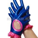 YL0069 Мини-перчатки с гофрами