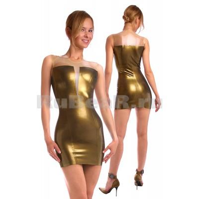DA7505 Платье со вставкой