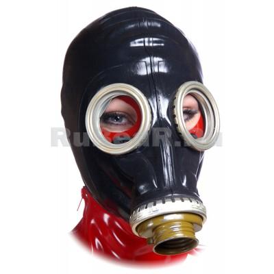 AS9002 Шлем-маска от противогаза черная