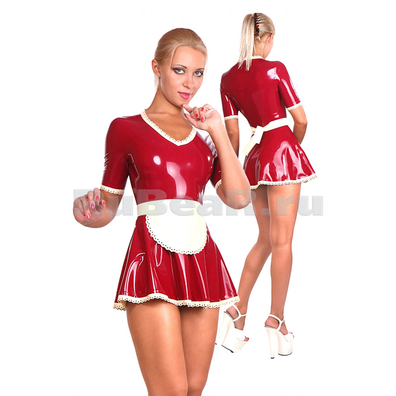 HA0202 Платье горничной
