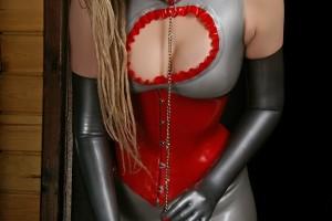 Платье анатомическое
